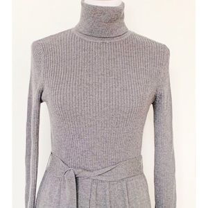 Dresses & Skirts - Turtle Neck Fitted Sweater Dress